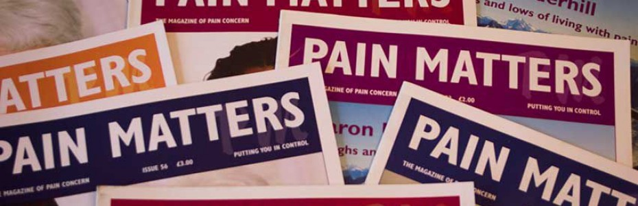 Pain Matters covers