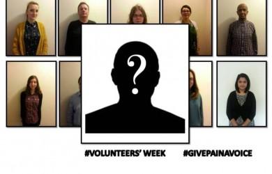 Pain Concern volunteers
